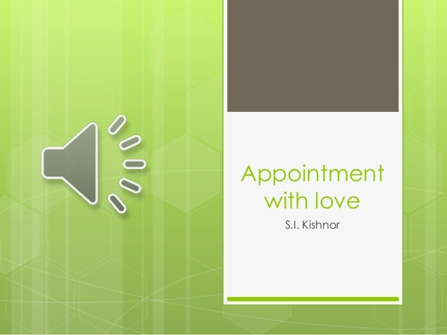 appointment with love short story summary