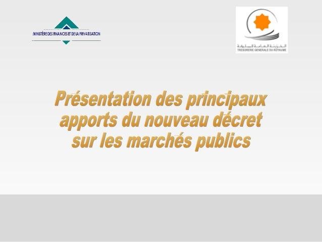 2 Sommaire  Le pourquoi de la réforme  Démarche suivie pour l'élaboration du nouveau décret  Objectifs de la réforme ( ...