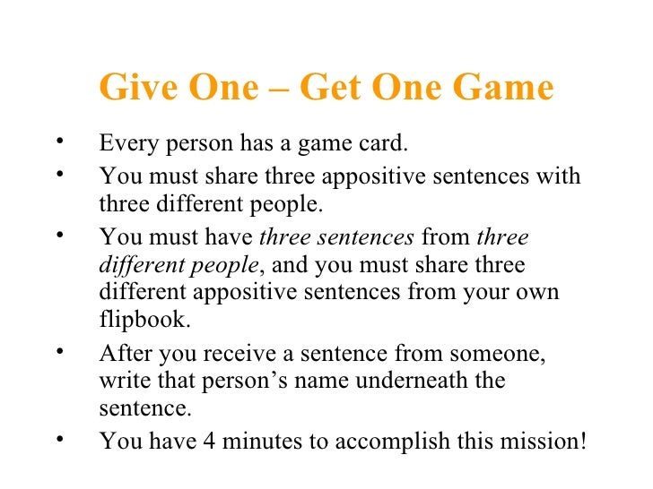 How to Write an Appositive