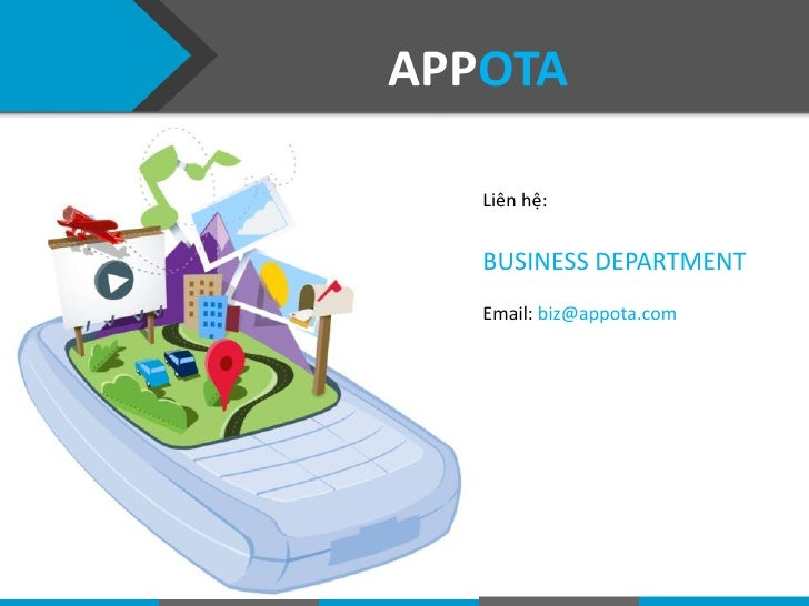 Appota developer support