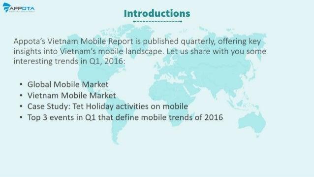 Vietnam Mobile Report Q1 2016