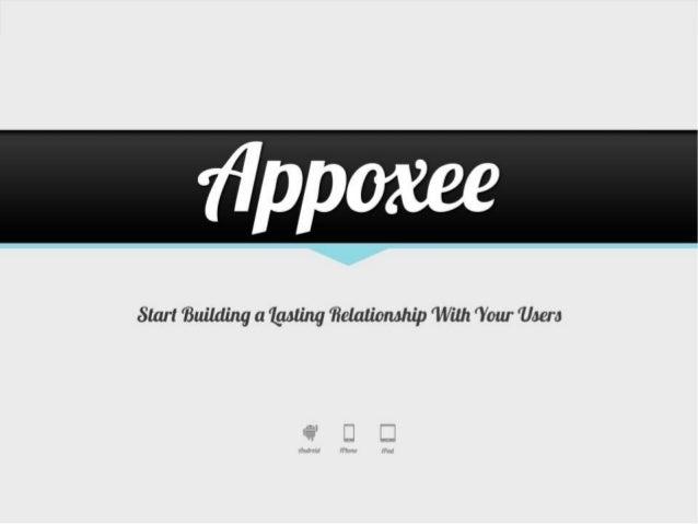 Appoxee Mobile App Engagement Platform Overview