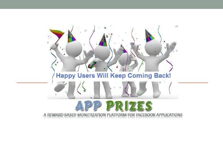 A Reward based Monetization Platform for facebook Applications<br />