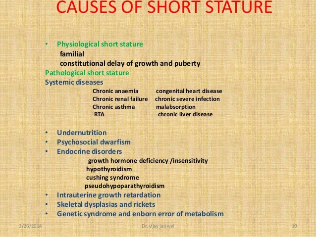 how to fix short stature