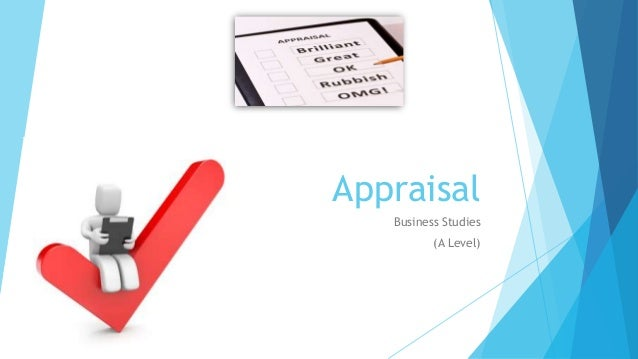 Appraisal Business Studies (A Level)