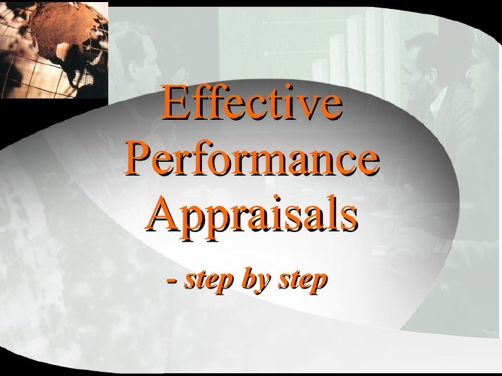 Effective Performance Appraisals - step by step