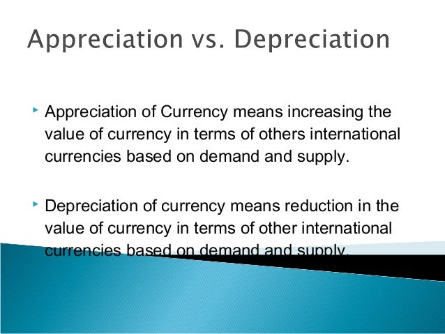 the appreciation of rmb The impact of an appreciation of the chinese yuan on the global trade xianming meng, mahinda siriwardana, and judith mcneill abstract: multiple currencies are a troublesome issue in a multi-country model.