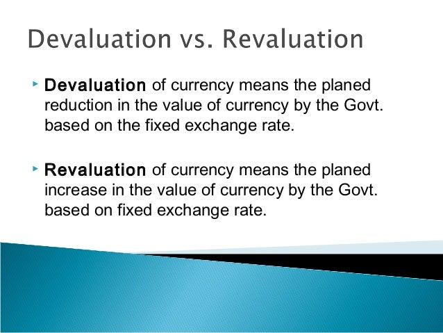 Appreciation and depreciation of exchange rate ppt presentation