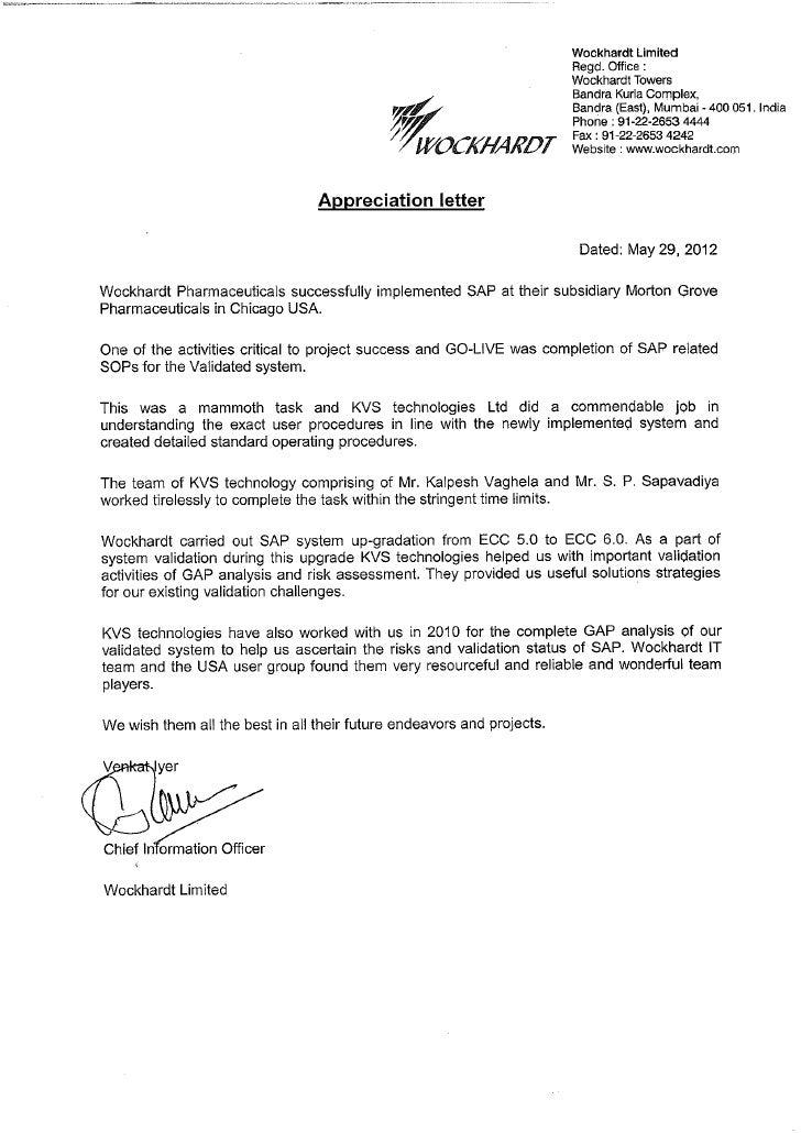 Appreciation letter morton groves pharma usa spiritdancerdesigns Choice Image
