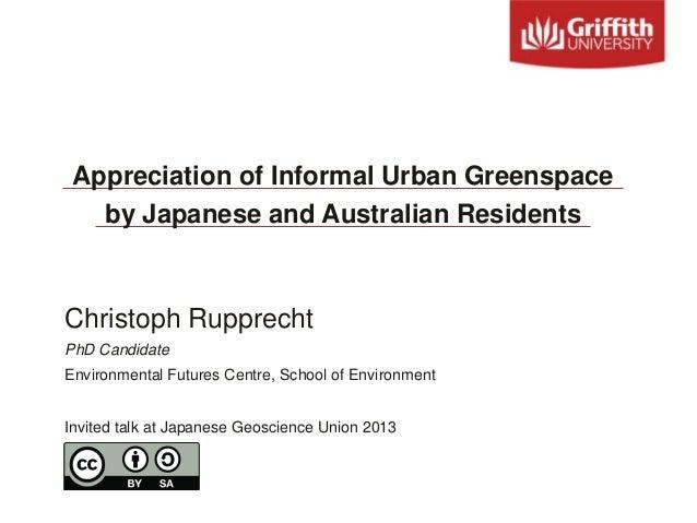 Christoph RupprechtPhD CandidateEnvironmental Futures Centre, School of EnvironmentInvited talk at Japanese Geoscience Uni...