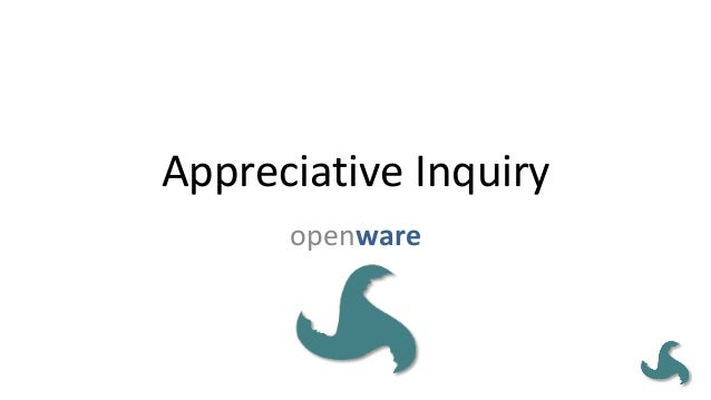 AppreciativeInquiry openware