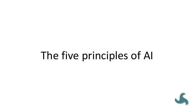 ThefiveprinciplesofAI • Thepoeticprincipleproposesthatorganizationallifeis expressedinthestoriespeoplet...
