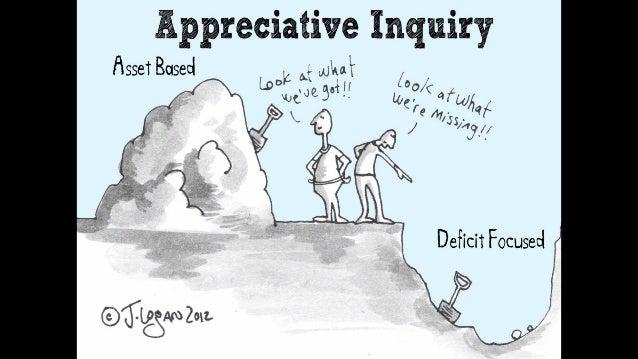 "AppreciativeInquiry ""Ineveryorganizationthereissomethingwhichwork wellandwhichconstitutesitsDNA. Thedeve..."