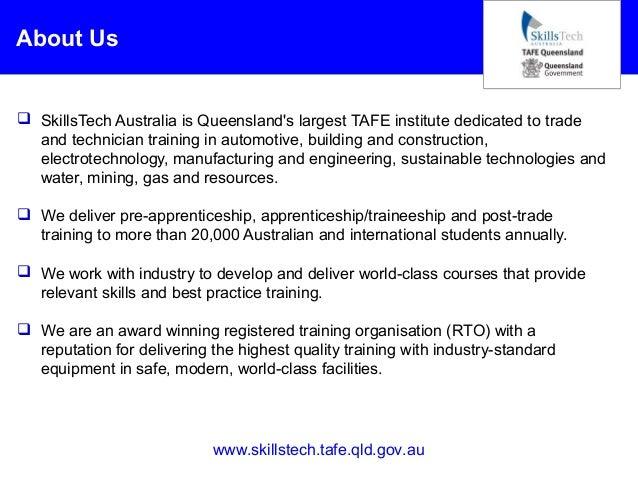 Apprenticeship and traineeship programs at skills tech australia
