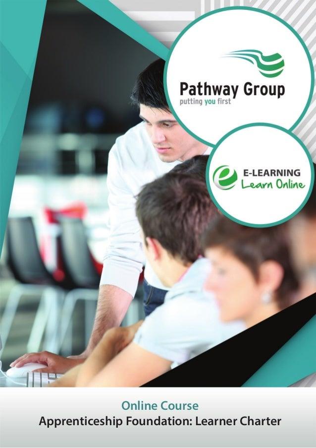 Online Course Apprenticeship Foundation: Learner Charter