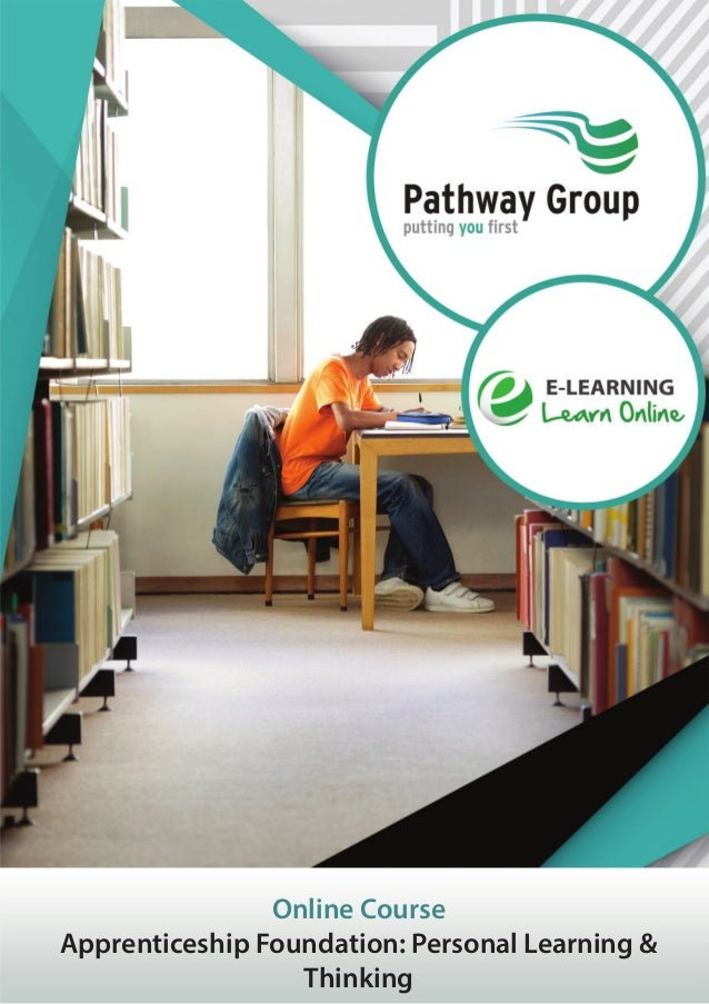 Online Course Apprenticeship Foundation: Personal Learning & Thinking