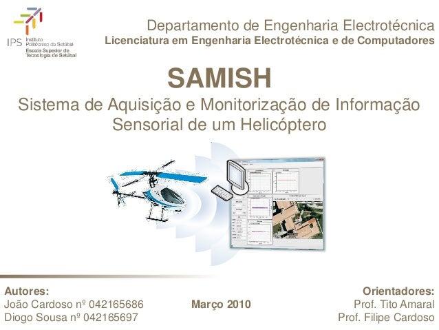 Departamento de Engenharia Electrotécnica                  Licenciatura em Engenharia Electrotécnica e de Computadores    ...