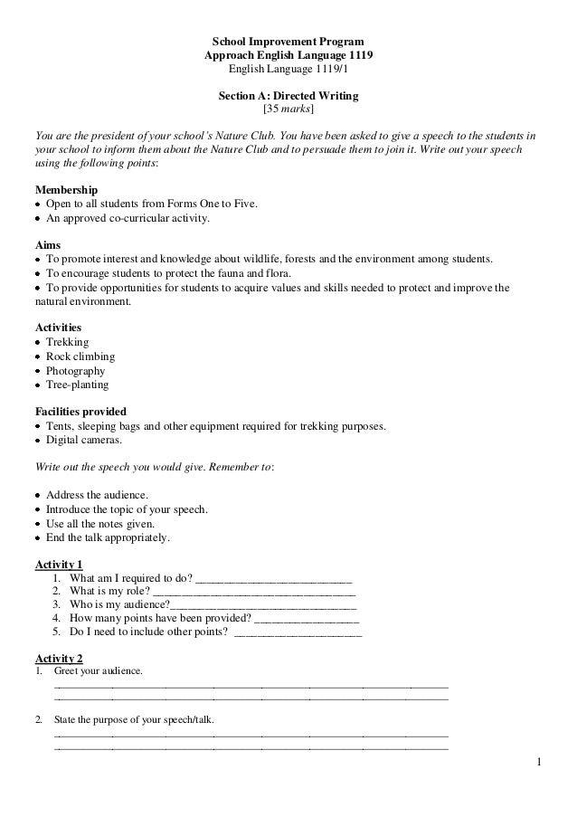 spm bi 1119 For teachers' referenceall you need to know about the handling of ulbs spm manual pengendalian ulbs bi.