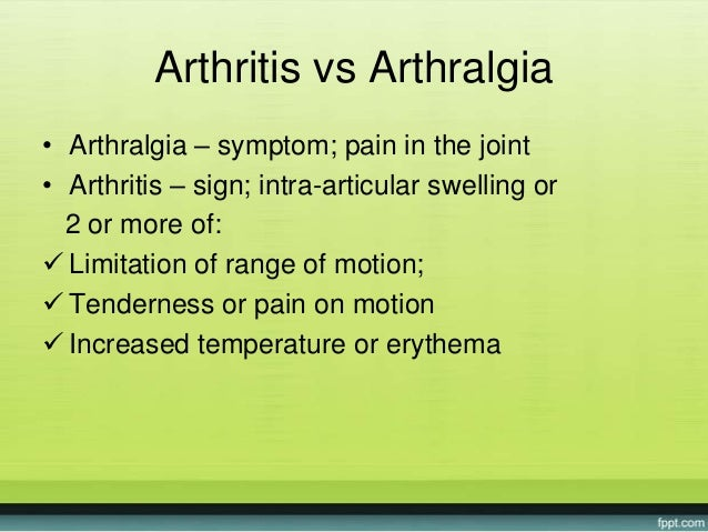 Approach arthritis in childhood Slide 2