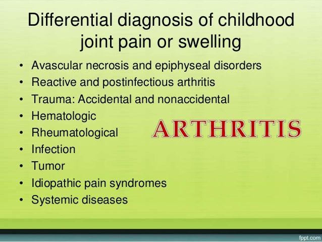 Approach arthritis in childhood Slide 3