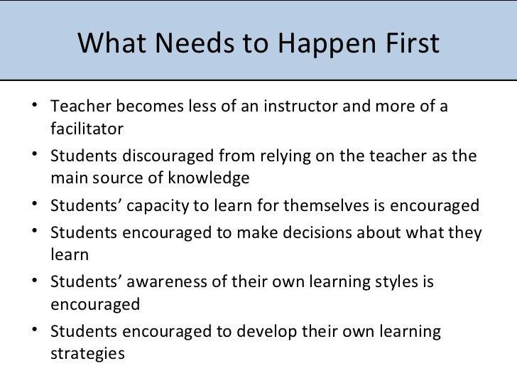 define autonomous learner