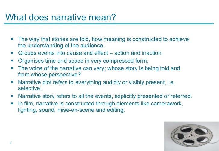 Approaches To Narrative Theory
