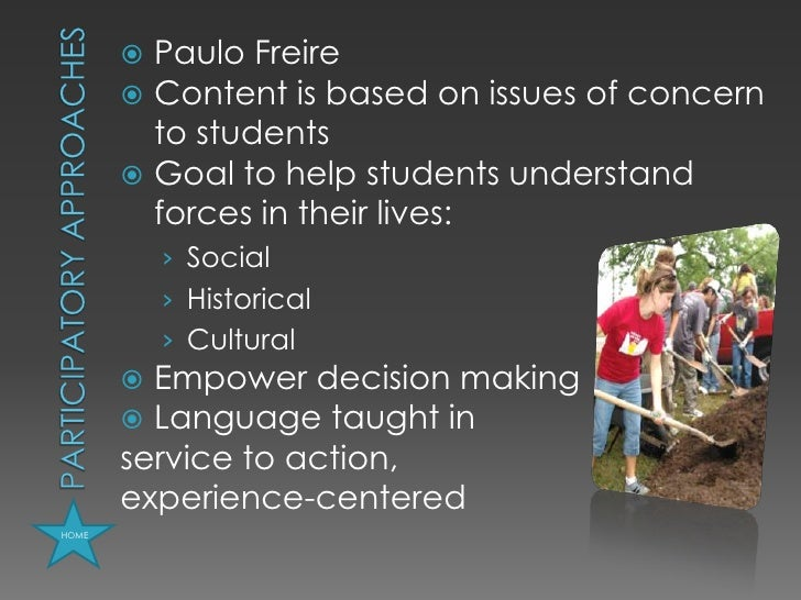 an evaluation of the problem solving approach of paulo freire The underlying thesis of his historical analysis is that the roots of brazilian  a  pedagogy that provides an appropriate solution to brazilian problems:  and this  is the country that produced the paulo freire method of literacy.