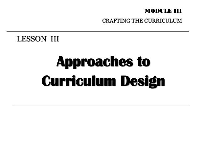 What is curriculum? Exploring theory and practice
