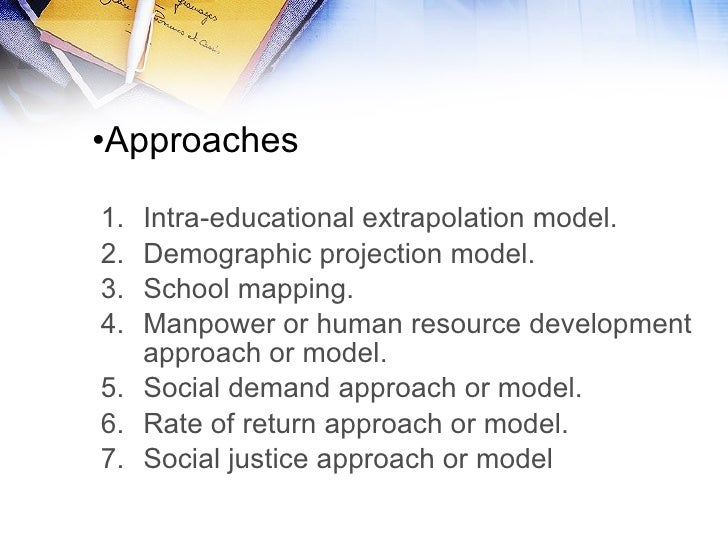 popular approaches to educational planning in Future education: a systematic approach  about educational planning, and to promote  but how shall we approach educa tional planning for the future both the.
