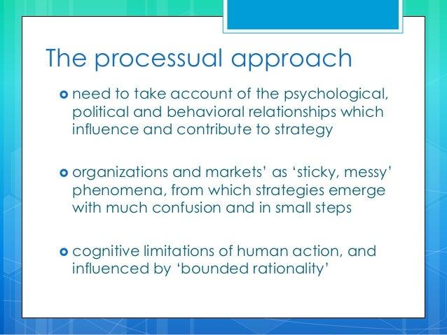 Whittington four generic approaches to strategy