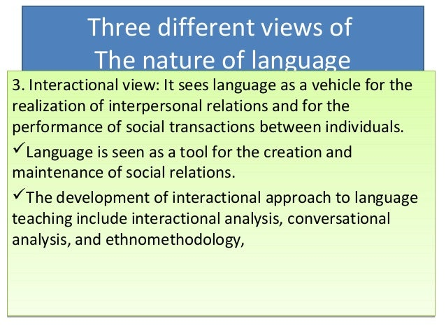 interactional nature of learning Towards a sociocultural perspective on identity  to wortham's work on interactional  emphasizing the socially distributed nature of knowledge learning in.