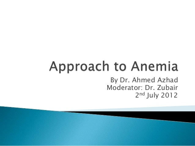 By Dr. Ahmed AzhadModerator: Dr. Zubair         2nd July 2012