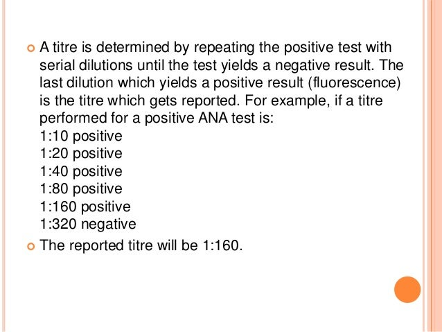Approach To A Patient With Positive Ana Levels 40 Interesting Positive Ana Homogeneous Pattern