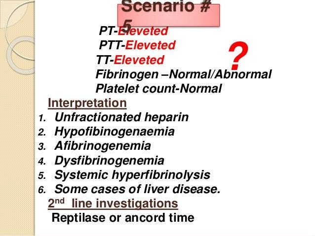 afibrinogenemia case study