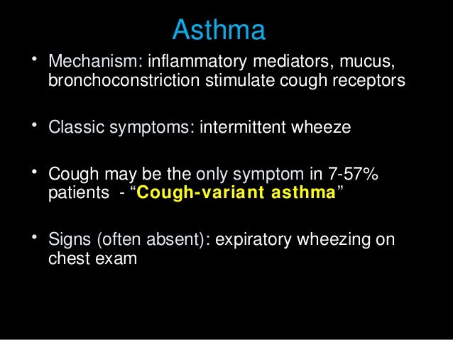 Approach To Patient With Chronic Cough