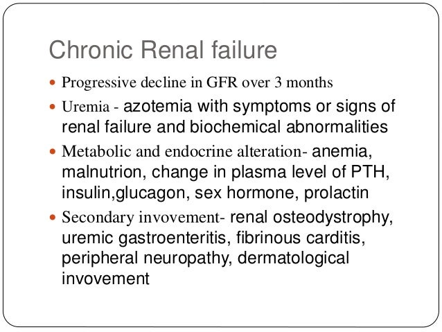 signs and symptoms of renal failure pdf