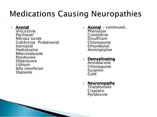 approach to peripheral neuropathy, Skeleton