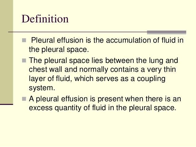 Approach to pleural effusion Slide 2