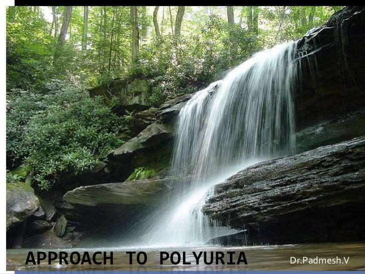 APPROACH TO POLYURIA   Dr.Padmesh.V