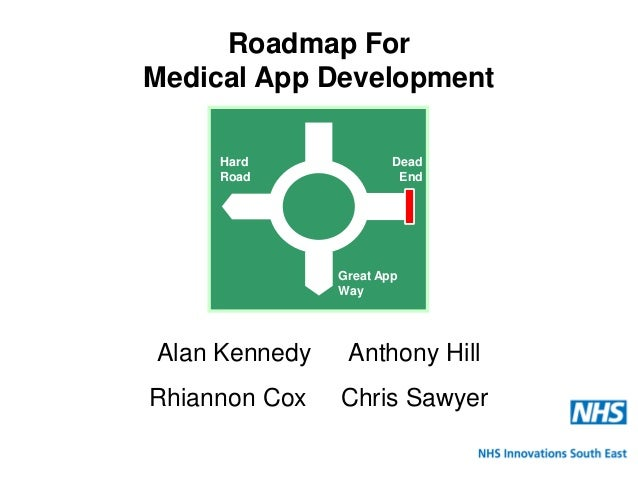 NHS Innovations South East NHS Innovations South East Roadmap For Medical App Development Alan Kennedy Anthony Hill Rhiann...