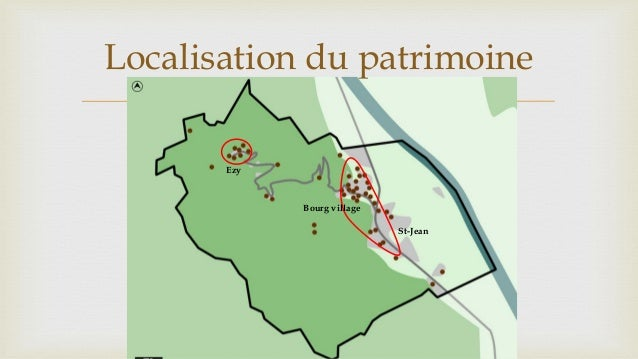  Ezy St-Jean Bourg village Localisation du patrimoine