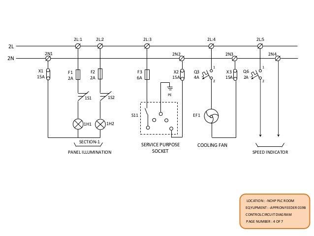 Appron feeder common ckt-diagram