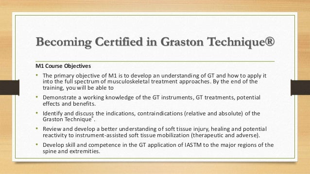 athletic appropriate scope trainer therapy within manual graston technique certified practice m1