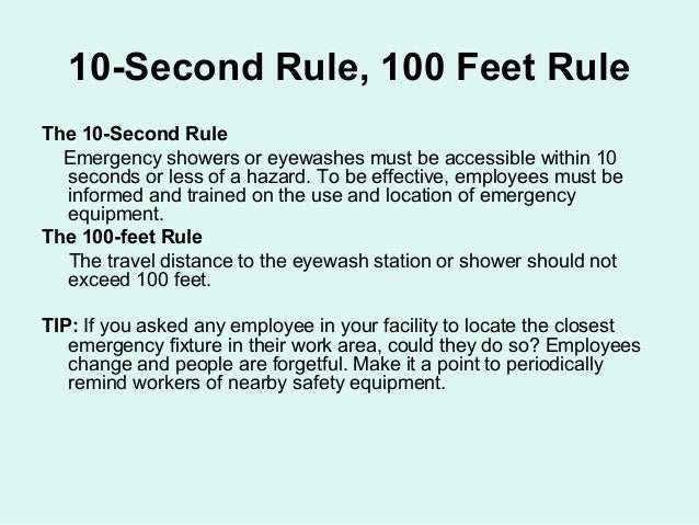 Approved 15 Minute Eyewash Shower By Ccsd