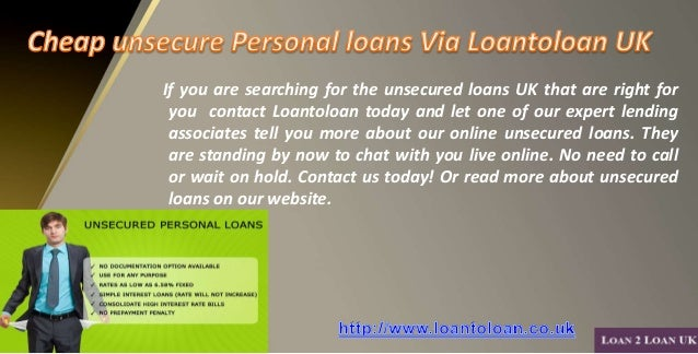 Approved Unsecured Personal Loans For Bad Credit