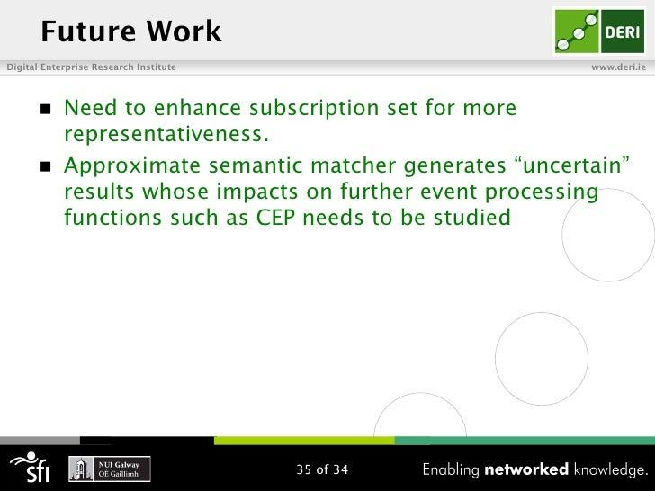 Future WorkDigital Enterprise Research Institute                      www.deri.ie       n   Need to enhance subscription...