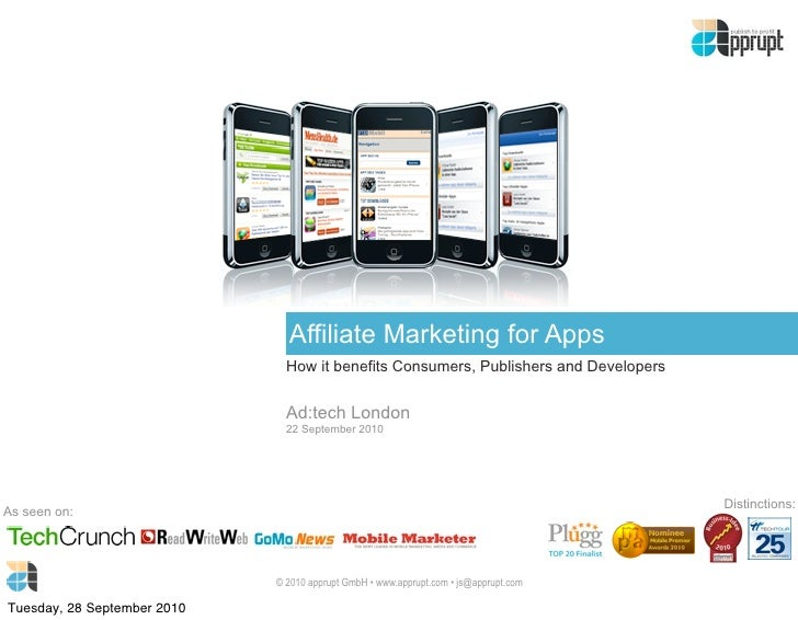 Affiliate Marketing for Apps                                How it benefits Consumers, Publishers and Developers          ...