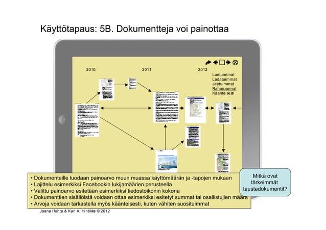 Käyttötapaus: 5B. Dokumentteja voi painottaa                         Osallistumis- ja arviointisuunnitelmavaihe kaavanumer...