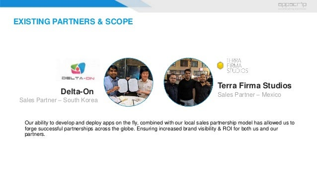 Local Sales Apps >> Appscrip Sales Partner App Reseller