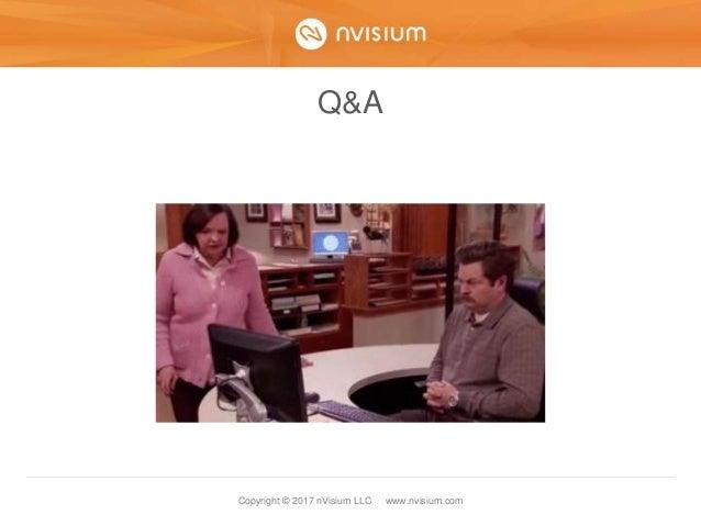 Copyright © 2017 nVisium LLC · www.nvisium.com Q&A